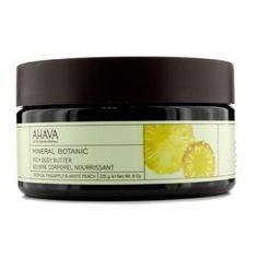Mineral Botanic Velvet Body Butter - Tropical Pineapple & White Peach - 235g-8oz