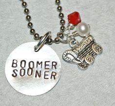 Boomer Sooner! Made by Teresa, a Beadles employee!