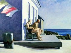 Sea Watchers by Edward Hopper