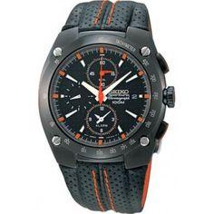 Seiko  SNA595P2  Sportura Alarm Chronograph Watch
