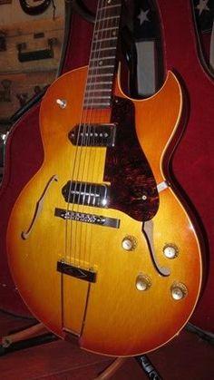 Vintage 1966 Gibson ES-125 TDC Hollowbody Electric Guitar w/ Original Soft Case