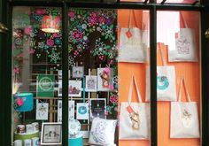 Happy Sunday! Our window is currently about our love of Notts! #lovenotts #nottingham #smallbusiness