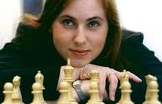 Hungarian-born Judit Polgár is a Grandmaster chess player having achieved the title in 1991 at the age of just 15 years and four months – the youngest person ever to do so at that time. Description from rhapsodiaffos.blogspot.com. I searched for this on bing.com/images