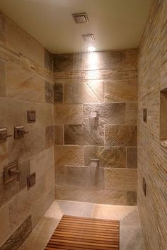 Bathroom Dream Shower Design, Pictures, Remodel, Decor and Ideas - page 2 by kelseyinfo Dream Bathrooms, Beautiful Bathrooms, Small Bathrooms, Dream Shower, Master Bathroom, Master Baths, Shower Bathroom, Bathroom Ideas, Wood Tile Shower