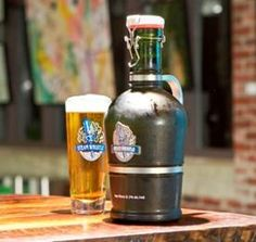 A More Eco-Friendly Way to Distribute Beer: The growler