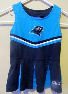 Reebok Carolina Panthers Cheerleader outfit  c08cac79c