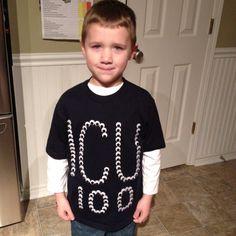 100th day project. Cheap t-shirt, 100 googly eyes and a glue gun!