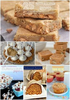 25 Delicious Butterscotch Recipes