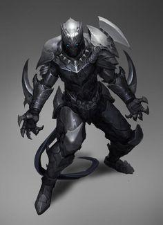 Captain America, Thor And Black Panther Get Kick Ass Fantasy Armor Marvel Art, Marvel Dc Comics, Marvel Heroes, Marvel Avengers, Thor, Avengers Characters, Fantasy Characters, Robots Characters, Fantasy Books