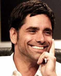 John Stamos (Uncle Jesse!) with a perfect grin.   #smile #teeth #ResolutionDental #celebrity  #actor