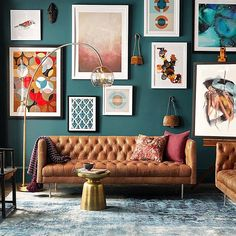 WEBSTA @ westelm - Nobody likes a sad wall. Cheer yours up with our west elm…