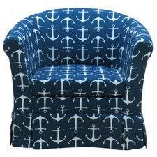 Found it at Wayfair - Hartly Skirted Club Chair Gold Rooms, Blue Rooms, South Shore Decorating, Decorating On A Budget, Diy Rustic Decor, Striped Rug, Diy Home Decor Projects, Decor Ideas, Home Design Plans