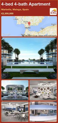 4-bed 4-bath Apartment in Marbella, Malaga, Spain ►€2,350,000 #PropertyForSaleInSpain