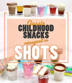 7 Easy Shots Inspired By Your Fave Aussie Snacks