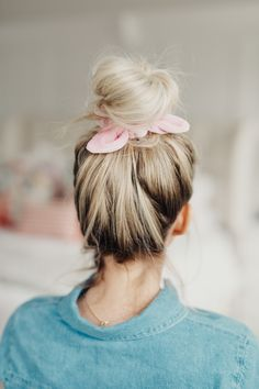 Hey everybody!!!! You guys loved the 10 medium length hairstyles video so much that I thought I'd make another little round up of styles for you. Lately I've been wearing scrunchies... like a lot. Just give me all the scrunchies! I prefer scrunchies to elastics because they really help me avoid damaging my hair, and they pretty much elevate every single hairstyle I can think of!! Scrunchies are great to use at night when you want to save your curls for the next day - check out ...
