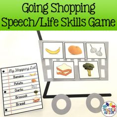This is a great game to include in your speech sessions and to encourage students to pay attention to detail, follow instructions, recognise different foods/drinks and be able to match them to their instructions. It also encourages wider use of vocabulary and sentence structure as well as working towards life skills.This activity comes in 2 difficulty levels.