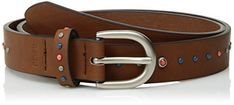 """Product review for Relic Womens Multi Stud Belt.  - This Relic jean belt is extra fun with multicolored studs atop saddle leather.       Famous Words of Inspiration...""""Happiness is not a matter of events, it depends upon the tides of the mind.""""   Alice Meynell — Click here for more from Alice..."""