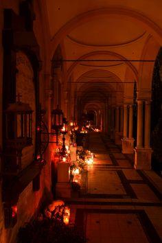 All Souls Day, Mirogoj Cemetery, Croatia.