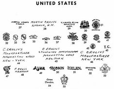 Pottery & Porcelain Marks - United States - Pg. 10 of 41