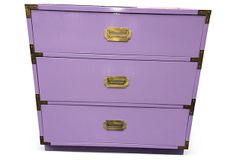 Lavender Campaign-Style Chest | Case Study | One Kings Lane