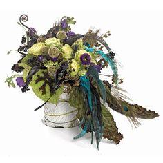 Pretty as a Peacock- ideas for a peacock wedding theme