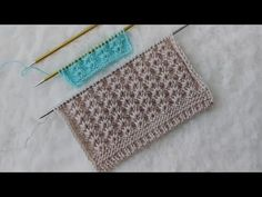 Sıralı Yıldız Modeli - YouTube Cross Stitch Art, Baby Knitting Patterns, Knit Crochet, Outdoor Blanket, Youtube, Stitches, Fashion, Tejidos, Moda