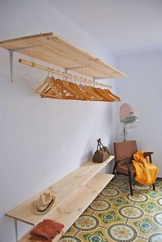 New Room Decor Diy Closet Spaces 58 Ideas Small Woodworking Projects, Easy Small Wood Projects, Rockler Woodworking, Woodworking Crafts, Woodworking Techniques, Woodworking Furniture, Closet Bedroom, Bedroom Decor, Bedroom Storage