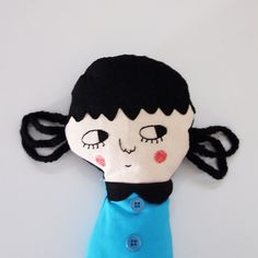 Betty,  one-of-a-kind handmade art doll.
