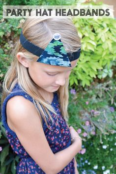 Easy party hat headbands @Sharon Garofalow