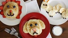 Animal Pancakes recipe from Betty Crocker