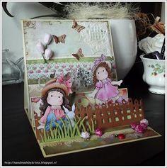 Handmade by Krista: At the Farm. Magnolia Stamps, Frame, Cards, Handmade, Home Decor, Hand Made, Homemade Home Decor, Decoration Home, Map