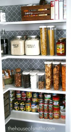 DAY 15 > I will be using this idea for my pantry !! Pretty Pantry – Guest Blogger! » Apartment Living Blog » ForRent.com : Apartment Living  #ClosetMakeover