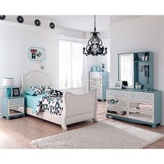 Mivara Sleigh Bedroom Set
