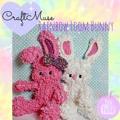 Rainbow Loom Bunny Part 5 of 5 (Bow)