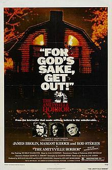 The Amityville Horror is a 1979 American horror film based on the bestselling 1977 novel of the same name by Jay Anson. It is the first movie in the Amityville Horror franchise. A remake was produced in 2005.  The book was definitely better than the movie...