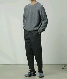Korean Fashion Men, Best Mens Fashion, Outfits Hombre, Stylish Mens Outfits, Herren Outfit, Look At You, Mens Clothing Styles, Clothing Ideas, Minimal Fashion