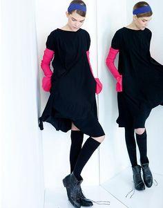 Schella Kann AW12.13 Second Skin, High Neck Dress, Clothes, Dresses, Fashion, Fashion Styles, Creative, Turtleneck Dress, Outfits