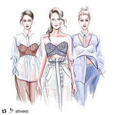 with ・・・ Karla Spetic resort 2019 Dress Design Drawing, Dress Design Sketches, Fashion Design Sketchbook, Fashion Design Drawings, Fashion Design Portfolios, Fashion Design Illustrations, Dress Designs, Fashion Figure Templates, Fashion Design Template