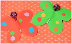 Lollipop Butterfly Craft Ideas
