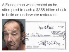 Of course it happened in Florida.
