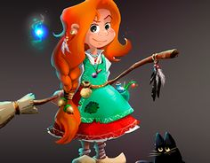 "Check out new work on my @Behance portfolio: ""little witch"" http://be.net/gallery/38115315/little-witch"