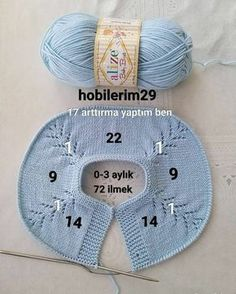 Baby Sweater Patterns, Baby Sweater Knitting Pattern, Knitted Baby Cardigan, Knitted Baby Clothes, Baby Hats Knitting, Sweater Knitting Patterns, Knitting For Kids, Crochet Kids Scarf, Crochet For Kids