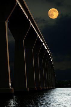 The Thomas Johnson Bridge... from Calvert County into beautiful St. Mary's County, Maryland