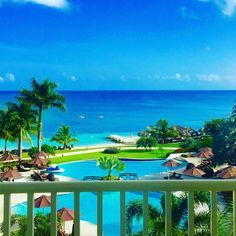 Just look at those blue at Secrets St. James Montego Bay in Jamaica.
