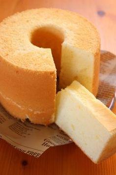 「ミルキーシフォンケーキ(練乳シフォン)」ナナママちゃん   お菓子・パンのレシピや作り方【corecle*コレクル】