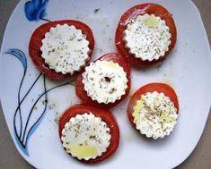 Os enseñamos a hacer rodajas de tomate con queso gratinado