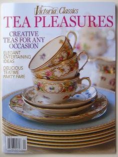 Magazine - Victoria Classics - Tea Pleasures - Tea With Friends
