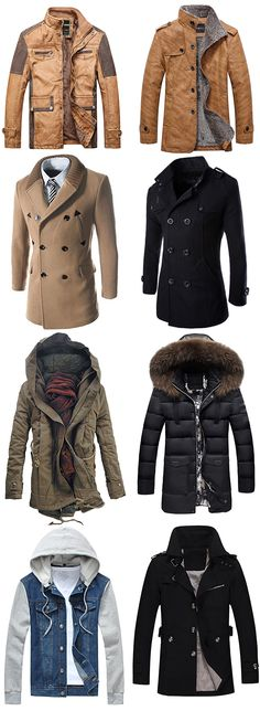 60 more men coats to wear now.Dresslily.com offers the latest high quality jackets and coats at great prices.Comfortable material, suitable for winter.Free Shipping Worldwide!