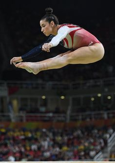from Aly Raisman - Rio 2016 Olympics Games: Team Finals @ the Arena Olimpica do Rio in Rio de Janeiro - Galery Gymnastics Facts, Gymnastics Images, Gymnastics Problems, Gymnastics Posters, Acrobatic Gymnastics, Sport Gymnastics, Olympic Gymnastics, Gymnastics History, Amazing Gymnastics