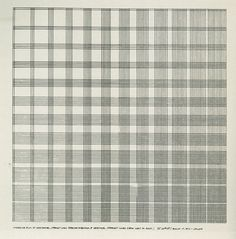 Sol LeWitt, Successive Rows of Horizontal, Straight Lines from Top to Bottom, and Vertical, Straight Lines from Left to Right, 1972